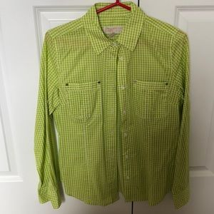 Bright light gingham button down